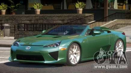 Lexus LFA SR for GTA 4
