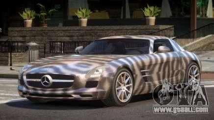 Mercedes Benz SLS AMG GS PJ4 for GTA 4