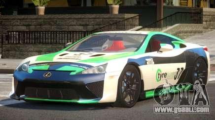 Lexus LFA Nurburgring Edition PJ1 for GTA 4
