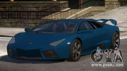Lambor Reventon GRS for GTA 4