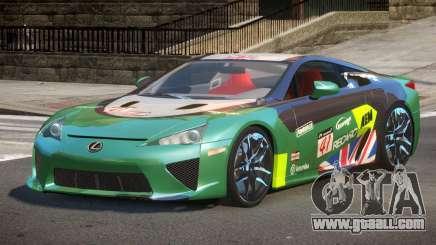 Lexus LFA Nurburgring Edition PJ3 for GTA 4