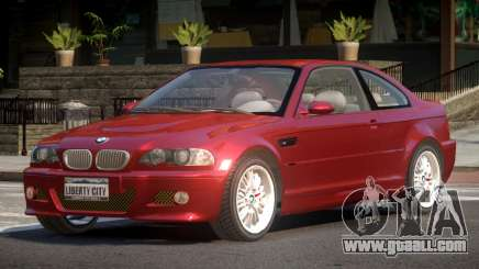 BMW M3 E46 FN for GTA 4