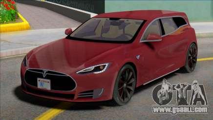 Tesla Model S Wagon for GTA San Andreas