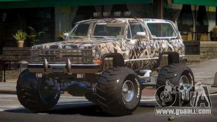 Chevrolet Blazer Custom PJ1 for GTA 4