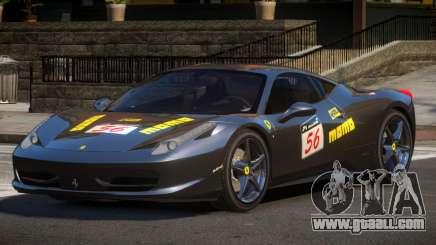 Ferrari 458 PSI PJ2 for GTA 4