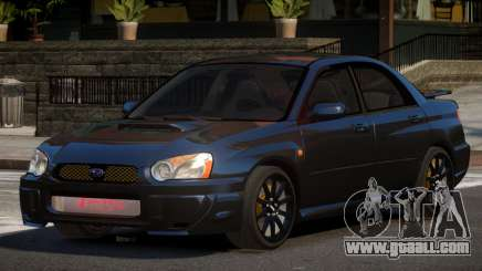 Subaru Impreza WRX BS for GTA 4