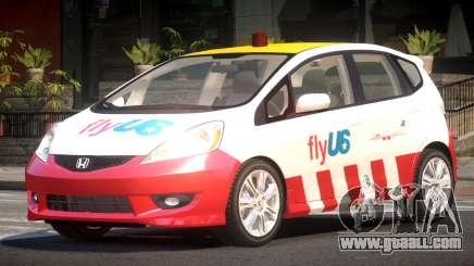 Honda Fit Fly Us for GTA 4