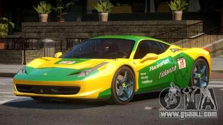 Ferrari 458 PSI PJ6 for GTA 4