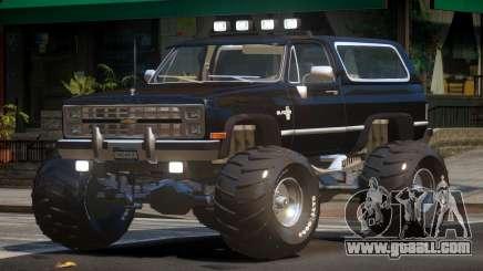 Chevrolet Blazer Custom for GTA 4