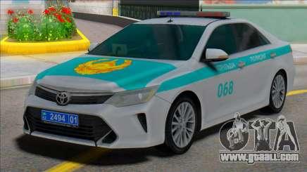 Toyota Camry 2015 Kazakhstan Police for GTA San Andreas