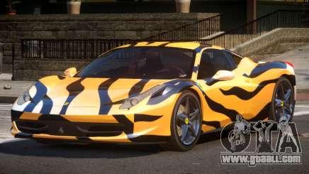 Ferrari 458 PSI PJ5 for GTA 4