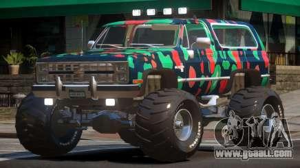 Chevrolet Blazer Custom PJ5 for GTA 4