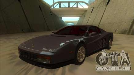 Ferrari Testarossa 1984 for GTA San Andreas
