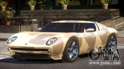 Lamborghini Miura SC PJ2 for GTA 4