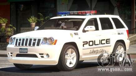 Jeep Grand Cherokee Police V1.0 for GTA 4