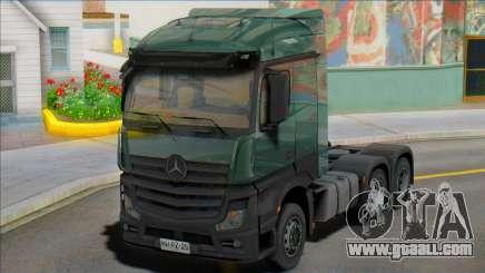 Mercedes-Benz Actros mp4 6 x4 for GTA San Andreas