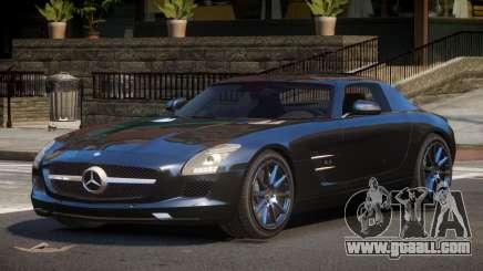 Mercedes Benz SLS AMG GS for GTA 4