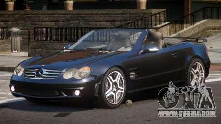 Mercedes Benz SL65 SR for GTA 4