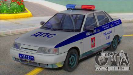 Vaz 2110 Police DPS 2003 for GTA San Andreas