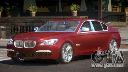 2014 BMW 750i F01 for GTA 4