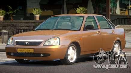 Lada Priora 2170 SK for GTA 4