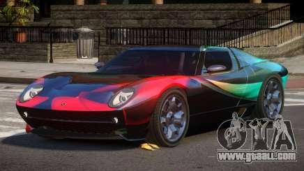 Lamborghini Miura SC PJ5 for GTA 4