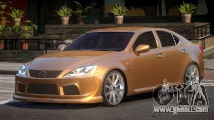 Lexus IS-F V1.1 for GTA 4