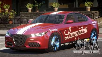 Lampadati Komoda PJ6 for GTA 4