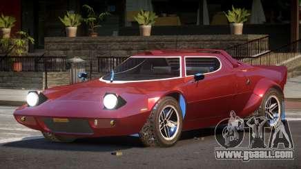 1973 Lancia Stratos V1.2 for GTA 4