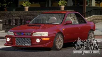 Subaru Impreza PSI for GTA 4