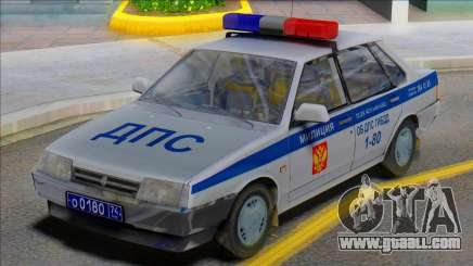 Vaz 21099 DPS Police for GTA San Andreas