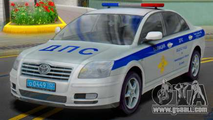 Toyota Avensis ABOUT traffic police for GTA San Andreas