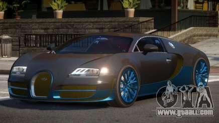 Bugatti Veyron BS for GTA 4