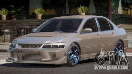 Mitsubishi Lancer SL for GTA 4