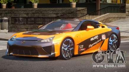 Lexus LFA Nurburgring Edition PJ2 for GTA 4