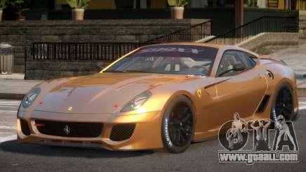Ferrari 599XX SD for GTA 4