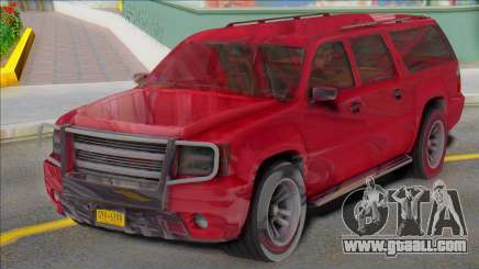 2007 Chevrolet Suburban Civillian Granger style for GTA San Andreas