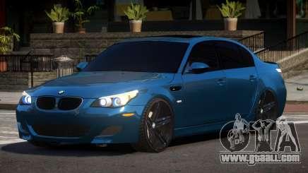 BMW M5 E60 TR for GTA 4