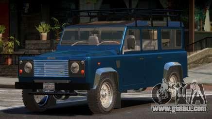 Land Rover Defender V1.1 for GTA 4