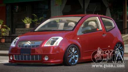 Citroen C2 RS for GTA 4