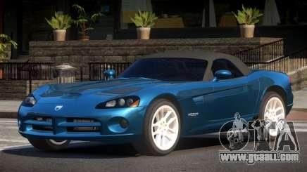 Dodge Viper DL for GTA 4