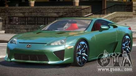 Lexus LFA Nurburgring Edition for GTA 4