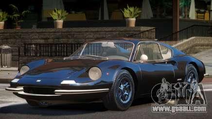 Ferrari Dino V1.1 for GTA 4