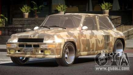 Renault 5 RS PJ1 for GTA 4