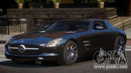 Mercedes Benz SLS GST for GTA 4