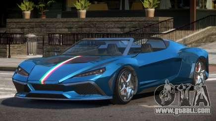 Pegassi Zorrusso L1 for GTA 4