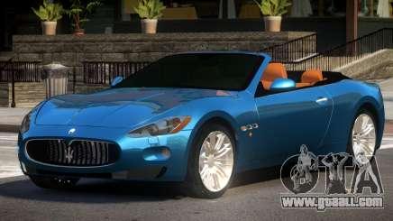 Maserati GranCabrio SR for GTA 4