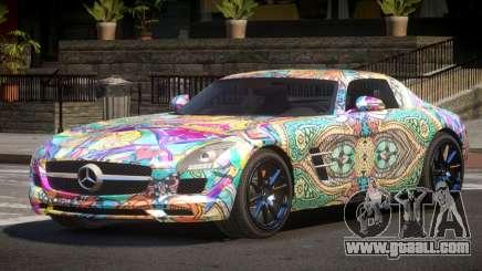 Mercedes Benz SLS GST PJ5 for GTA 4