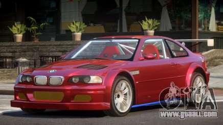 BMW M3 E46 GTR for GTA 4