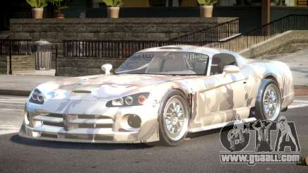 Dodge Viper BS PJ2 for GTA 4